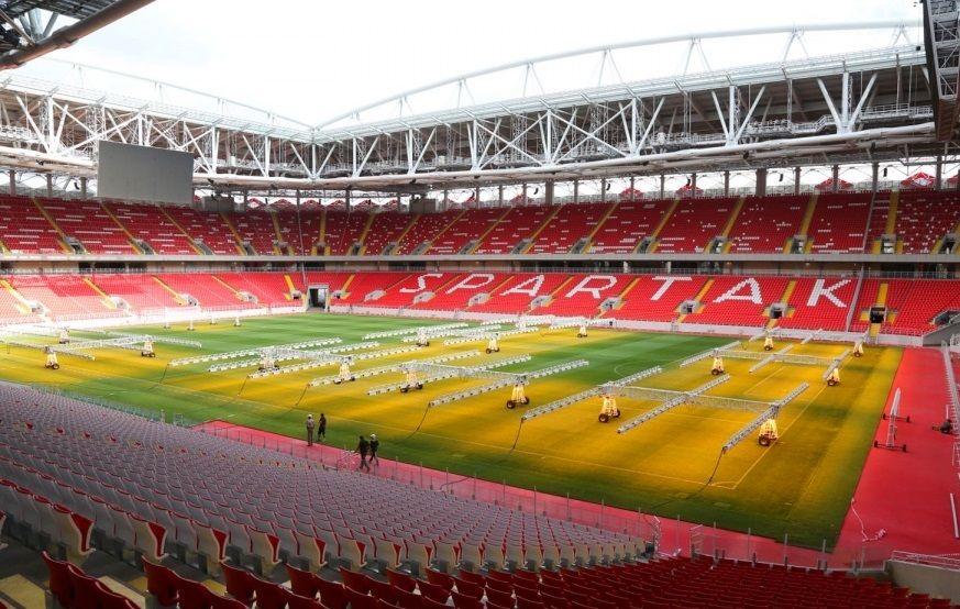 Стадион «Спартака» получил сертификат высшей категории (Видео)
