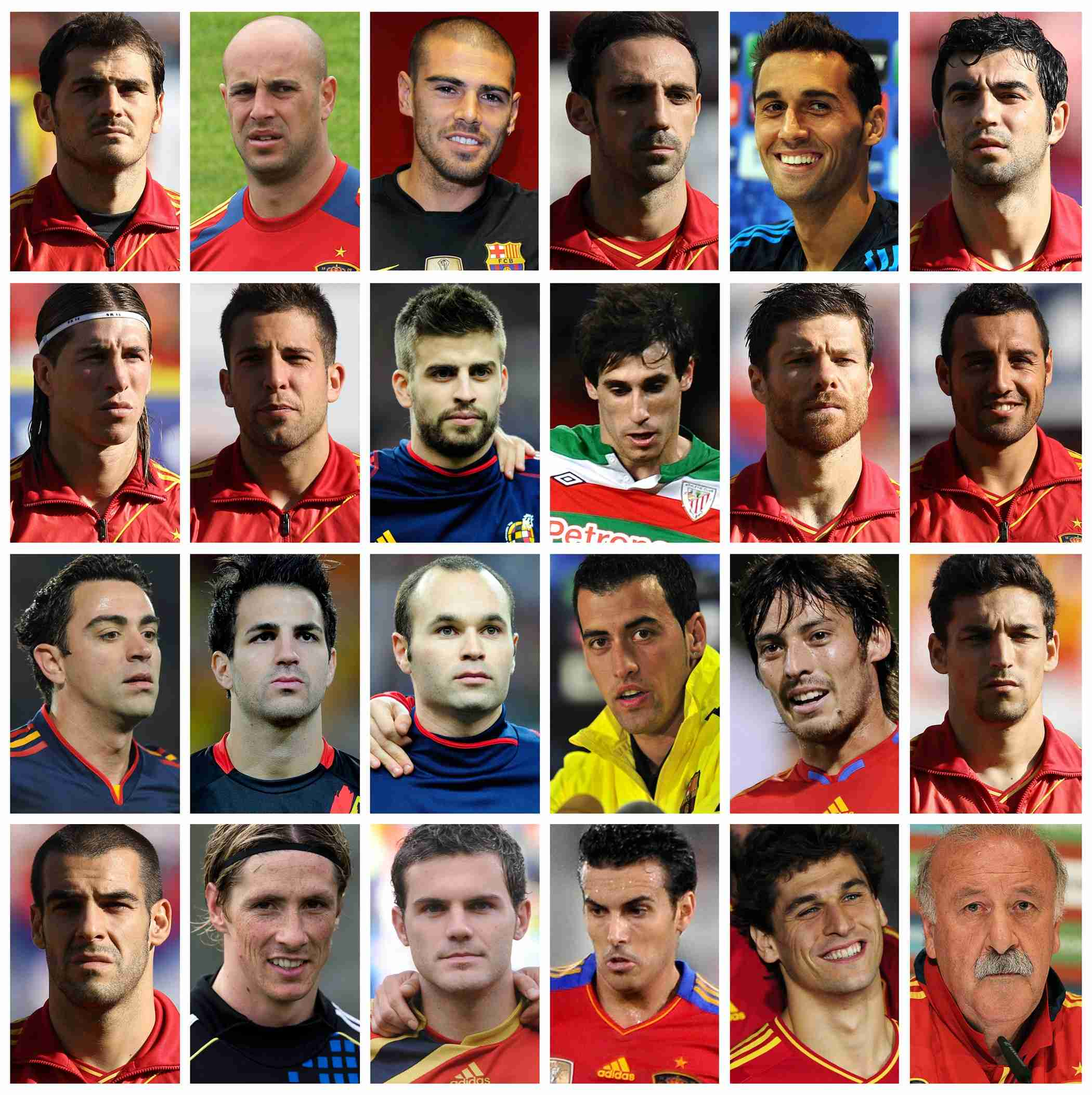 20 номер сборной испании по футболу