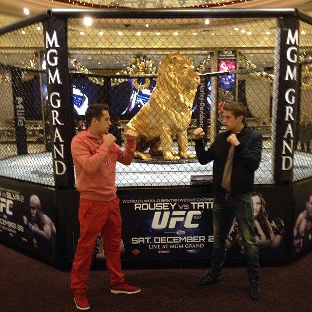 Дмитрий и Кирилл Комбаровы в Лас-Вегасе