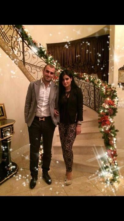 Юра Мовсисян с женой