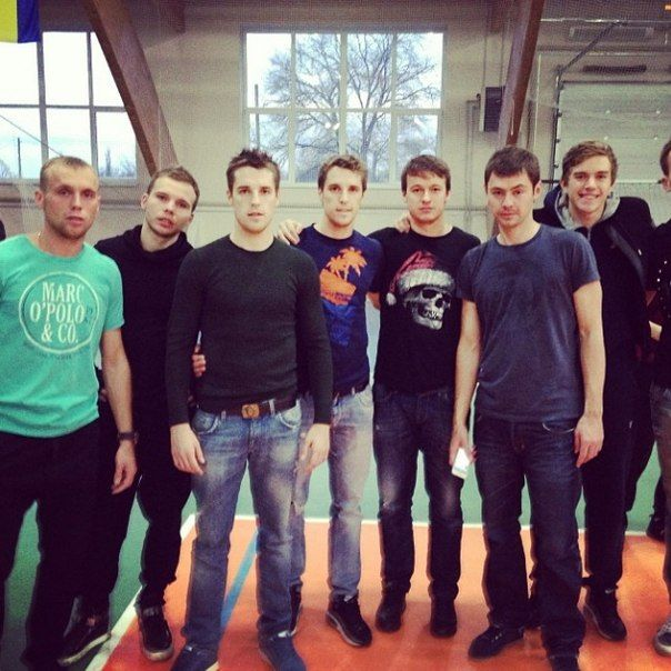 Денис Глушаков, Дмитрий и Кирилл Комбаровы, Динияр Билялетдинов и Антон Митрюшкин