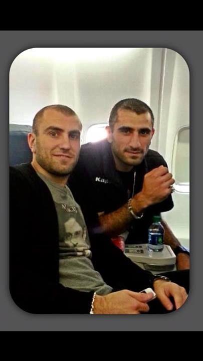 Юра Мовсисян с братом