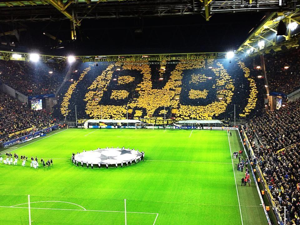 Стадион« вестфаленштадион дортмунд, « боруссия»