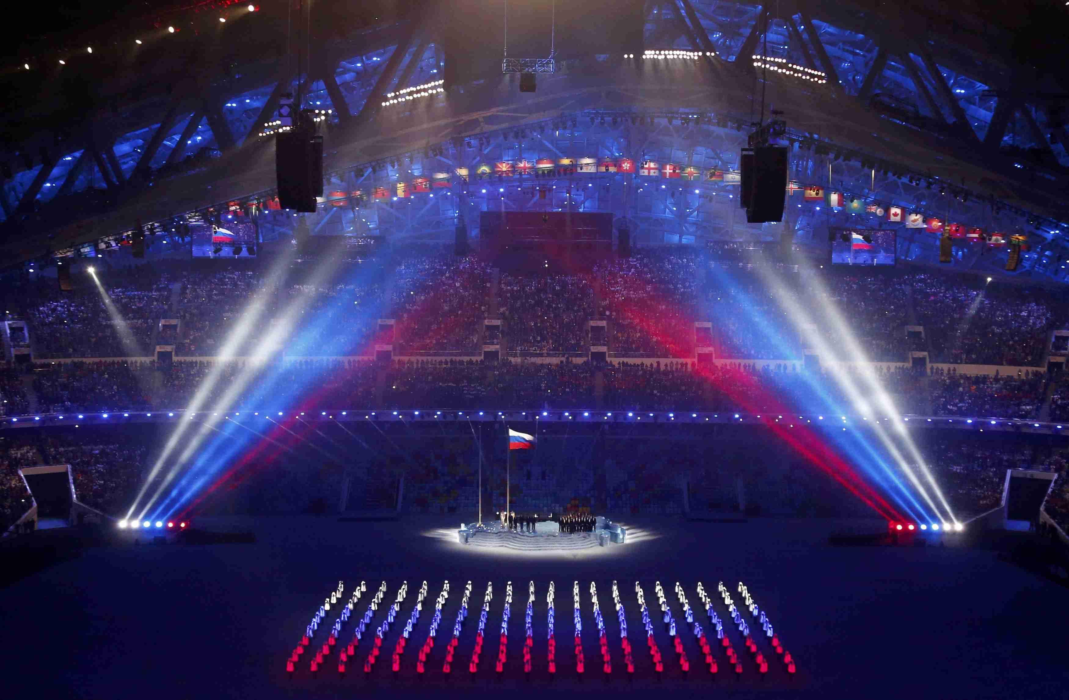 такое самое красивое и зрелищное открытие олимпиады за историю Якутске запись