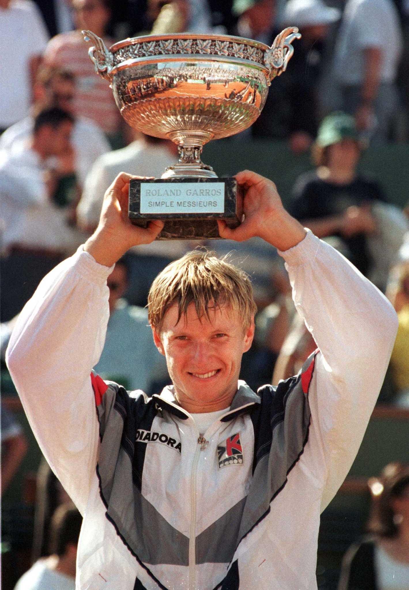9 июня 1996 года. Париж. Евгений КАФЕЛЬНИКОВ - чемпион Roland Garros