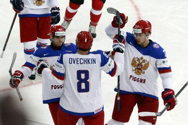 Сборная России разгромила Швейцарию в Минске