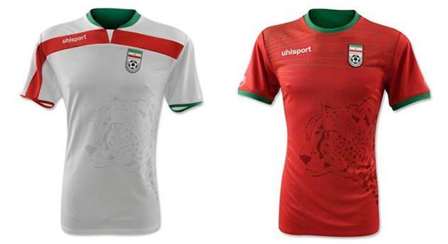 форма сборной ИРАНА по футболу