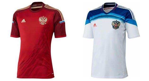 форма сборной РОССИИ по футболу
