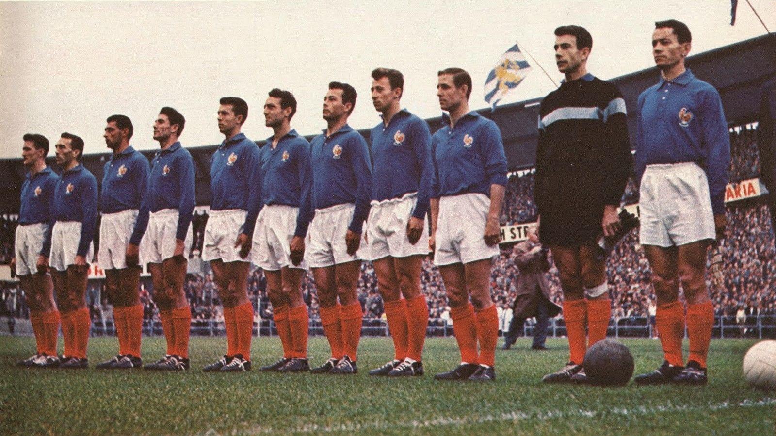 Сборная Франции по футболу 1958