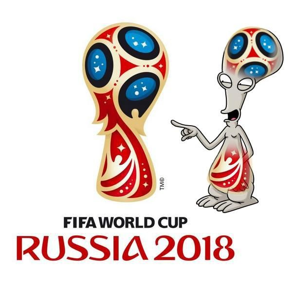 The New Russia 2018 World Cup Logo Gets The Joke Meme