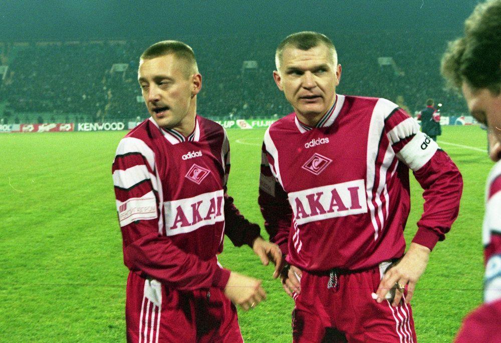 Андрей Тихонов и Сергей Горлукович