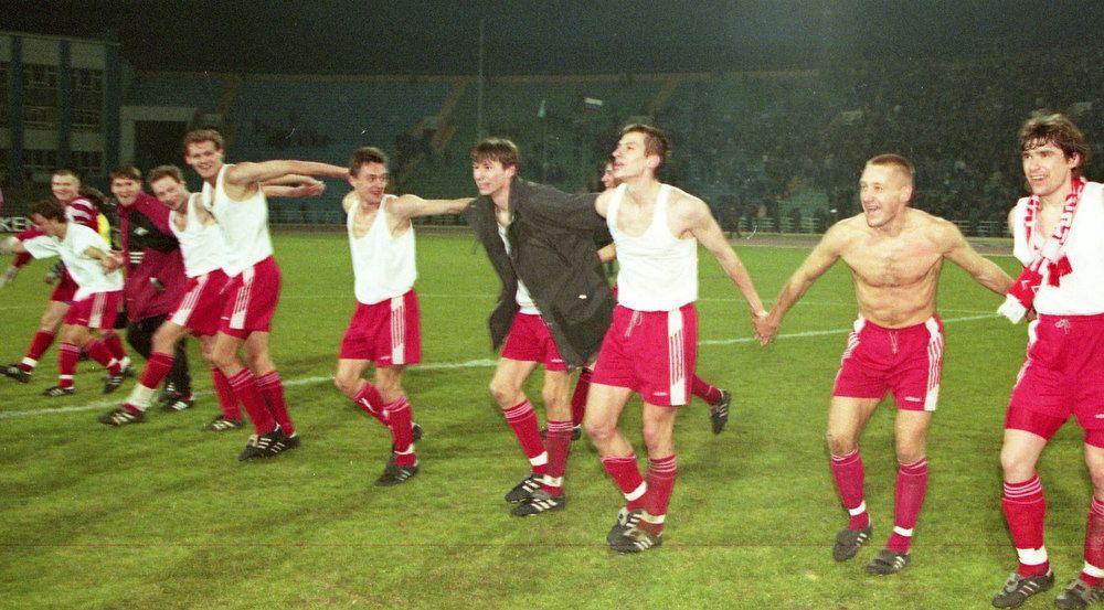 """ФК """"Спартак"""" Москва - чемпион России 1997 года"""
