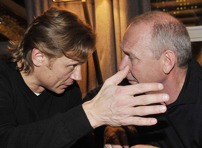 Валерий Карпин и Олег Романцев