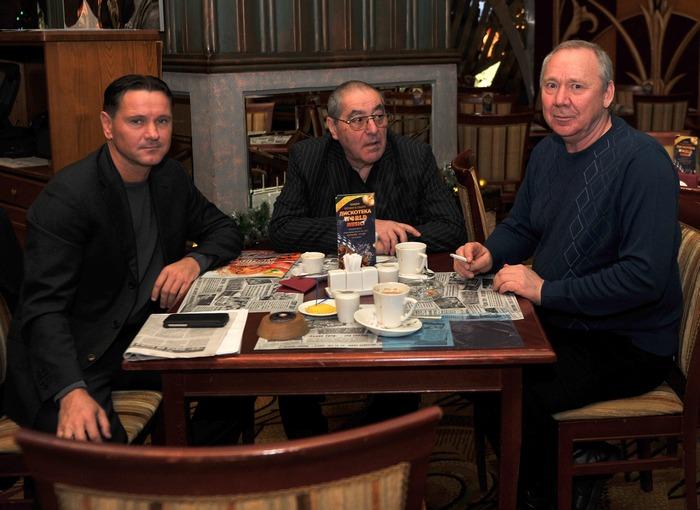 Дмитрий Аленичев и Олег Романцев