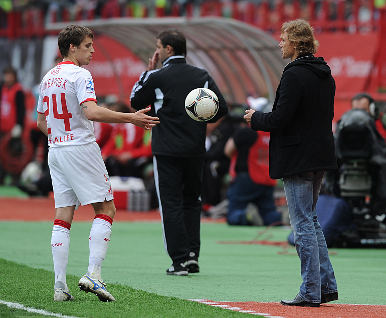 Кирилл Комбаров и Валерий Карпин