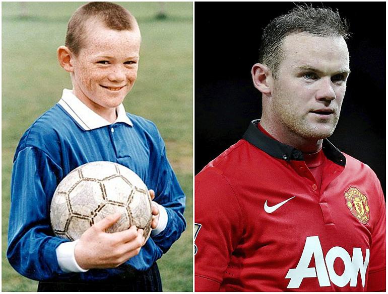 Как футбольные звезды выглядели в детстве - изображение 1