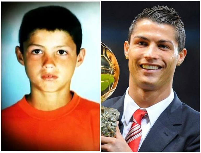 Как футбольные звезды выглядели в детстве - изображение 2