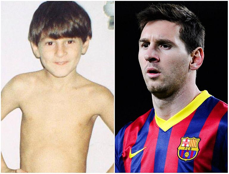 Как футбольные звезды выглядели в детстве - изображение 4