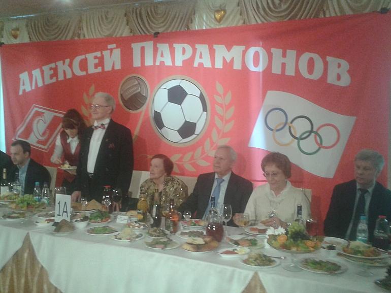 За одним столом с Алексеем ПАРАМОНОВЫМ – Вячеслав КОЛОСКОВ и Николай ТОЛСТЫХ