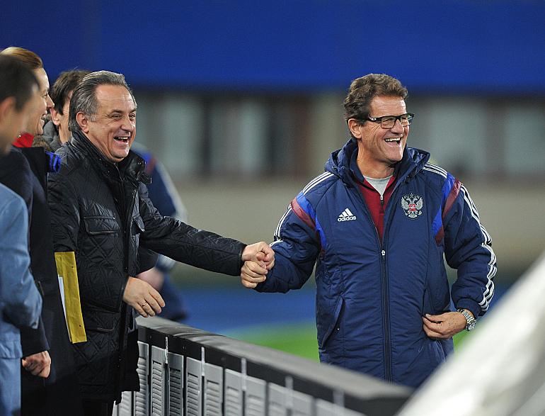 """Фабио Капелло: """"В моем контракте нет пункта об обязательном выходе на Euro-2016"""""""