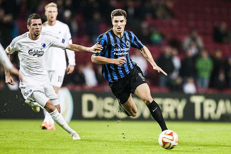 Inter de Milão interessada no lateral Meunier, do Brugge