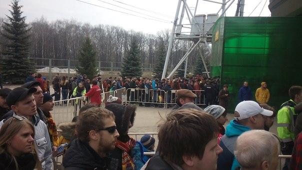 На стадионе в Туле собралось больше болельщиков, чем в Москве