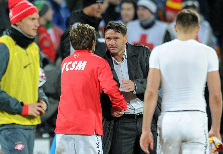 Дмитрий Аленичев со спартаковцами