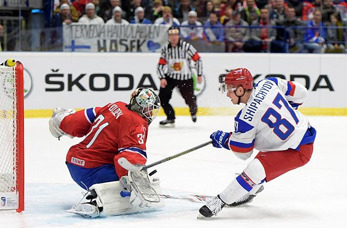 Сборная России разгромила Норвегию в первом матче ЧМ по хоккею (Видео)