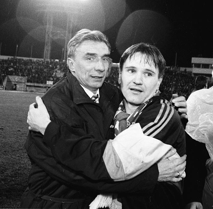 Георгий Ярцев и Дмитрий Аленичев