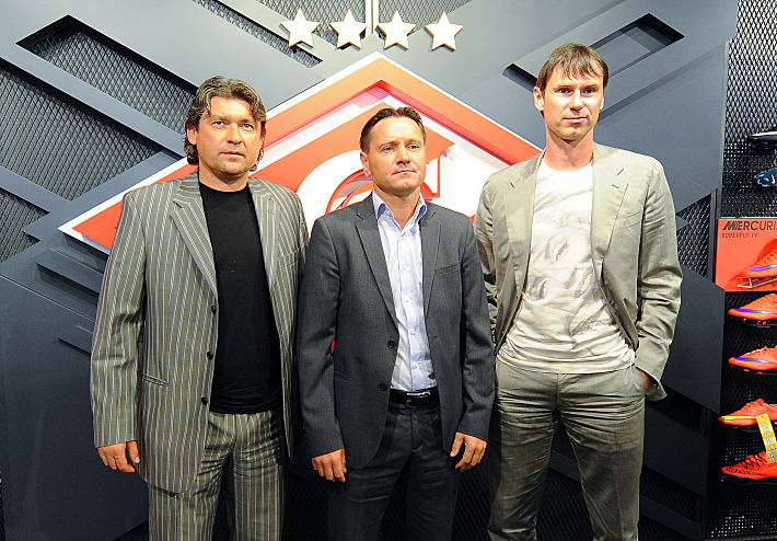 Дмитрий Ананко, Дмитрий Аленичев и Егор Титов