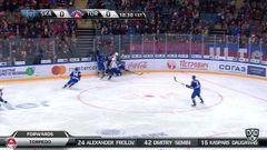 Гол. 1:0. Прохоркин Николай (СКА) вместе с шайбой влетел в ворота