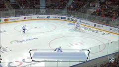 Кубок Гагарина 2017, Авангард - Адмирал 2:1 ОТ3 (Матч 1)