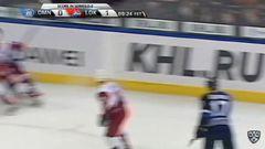 Удаление. Коршков Егор (Локомотив) за задержку игры.