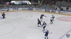 Гол. 2:3. Максим Карпов (Динамо) принёс москвичам третью победу