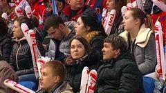 Удаления. Павел Красковский (Локомотив) и Евгений Ковыршин (Динамо) получили по 2 минуты