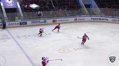 Удаления. Ян Муршак (ЦСКА) и Павел Красковский (Локомотив) получили по 5 минут за драку