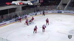 Удаления. Андрей Светлаков (ЦСКА) и Егор Коршков (Локомотив) получили по 2 минуты