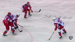 Гол. 2:1. Аверин Егор (Локомотив) кистевым в дальний угол