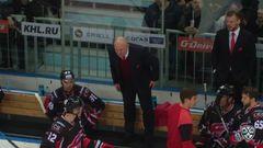 Удаление. Захарчук Степан удален на 2+10 минут за атаку в область головы и шеи