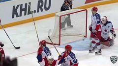 Локомотив - ЦСКА. Лучшие моменты второго периода