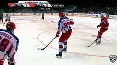 Удаление. Петри Контиола (Локомотив) наказан малым штрафом за удар клюшкой