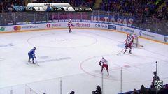 Гол. 1:1. Аверин Егор (Локомотив) реализовал выход один в один
