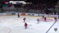 Гол. 1:2. Александр Барабанов (СКА) принёс питерцам третью победу в серии