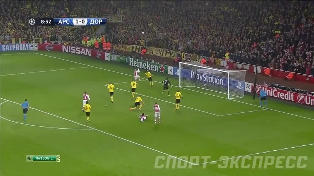 Арсенал и боруссия дортмунд