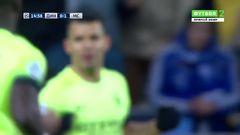 Динамо (Киев) - Манчестер Сити, Агуэро, Гол, 1-0