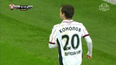 Спартак (Москва) - Амкар, Комолов, Гол, 0-1
