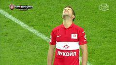 Спартак (Москва) - Амкар, Комбаров Д., Удар