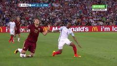 Англия - Россия, Удар, Игнашевич