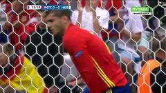 Испания - Чехия, Голевой момент, Мората