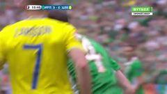 Ирландия - Швеция, Голевой момент, О'Ши